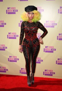 NICKI MINAJ at MTV Video Music Awards