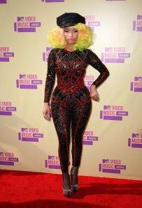 NICKI MINAJ at MTV Video Music Awards