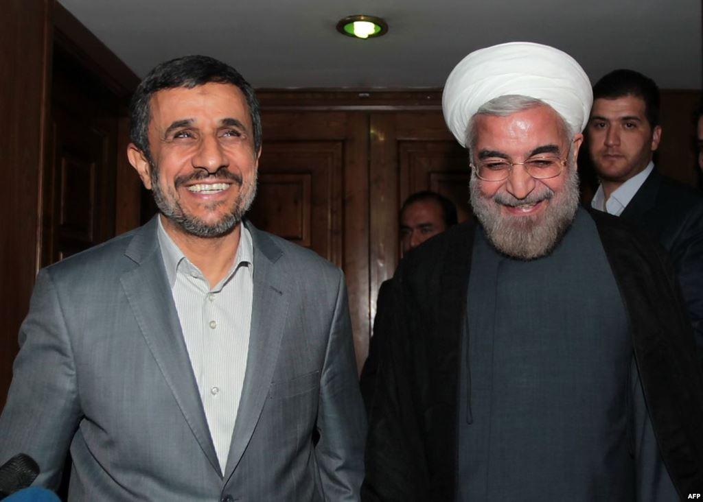 AhmadiNejad-Rouhani
